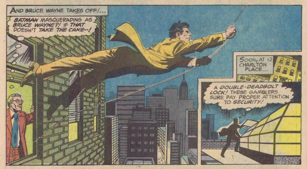 Batman's Great Identity Switch!