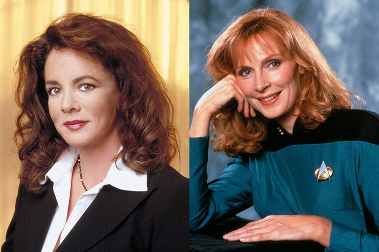 Abbey Bartlet Beverly Crusher West Wing Star Trek Next Generation TV