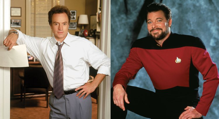 Josh Lyman Will Riker West Wing Star Trek Next Generation TV