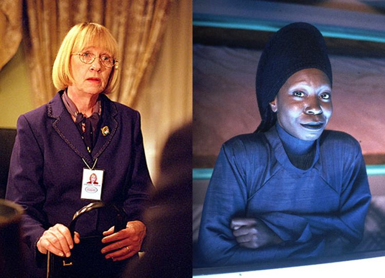 Mrs. Landingham Guinan West Wing Star Trek Next Generation TV