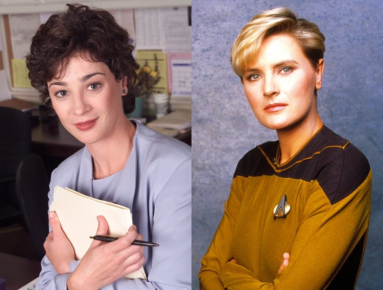 Mandy Hampton Tasha Yar West Wing Star Trek Next Generation TV