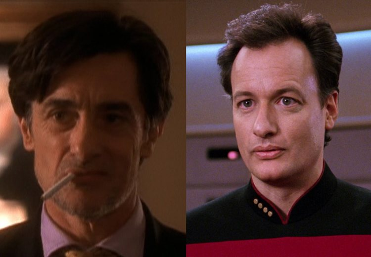 Lord Marbury Q West Wing Star Trek Next Generation TV