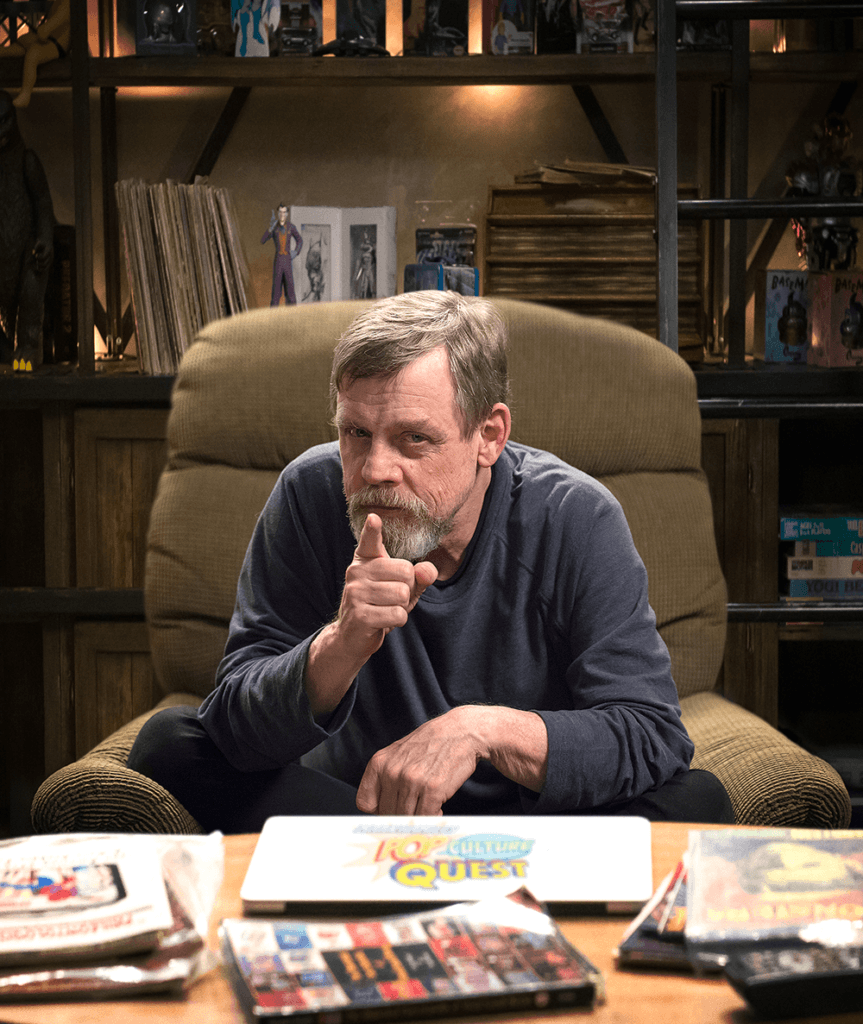 Mark Hamill's Pop Culture Quest at Comic-Con HQ.