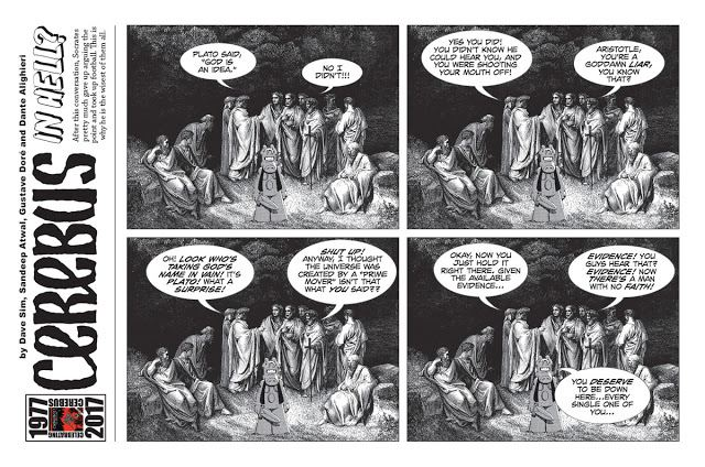 Cerebus in Hell aug 1 strip