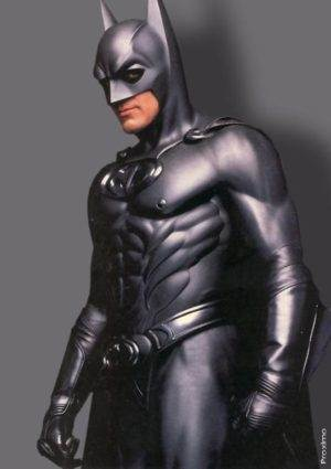 George Clooney as Batman in 'Batman and Robin' - Atomic Junk Shop