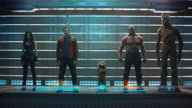 'Guardians of the Galaxy' cast lineup - Atomic Junk Shop