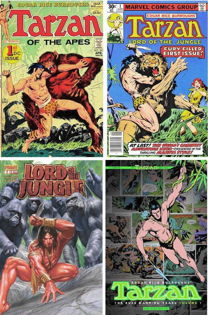 Tarzan of the comics