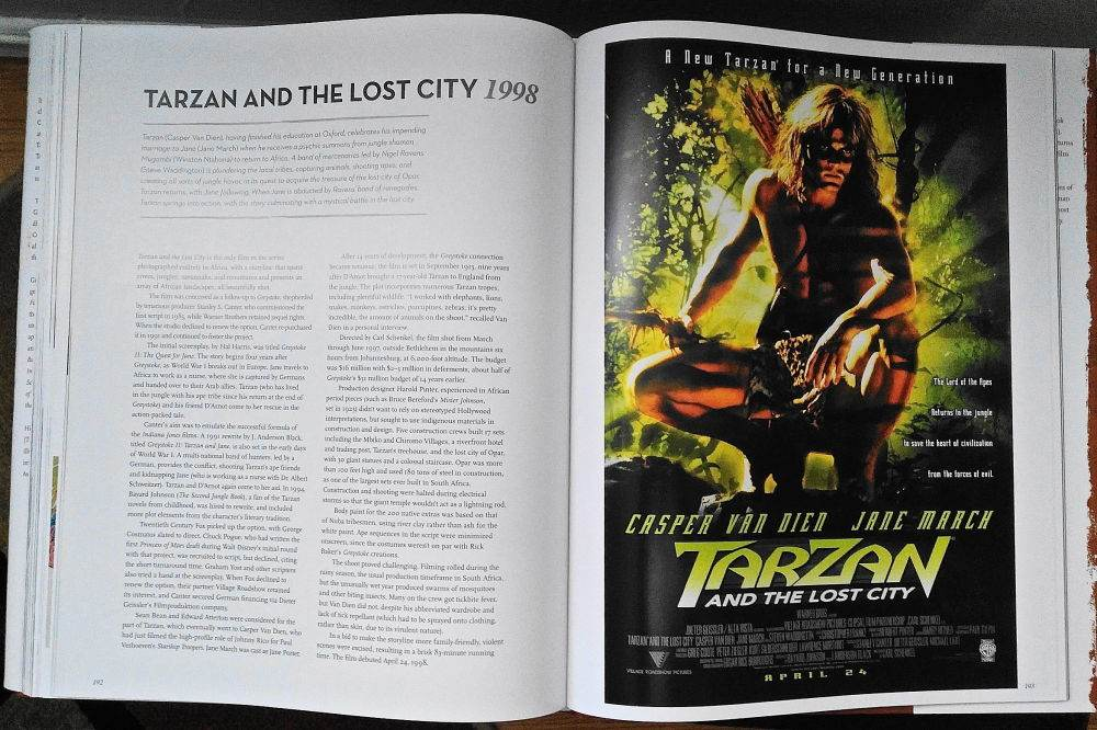 Tarzan in the Lost city