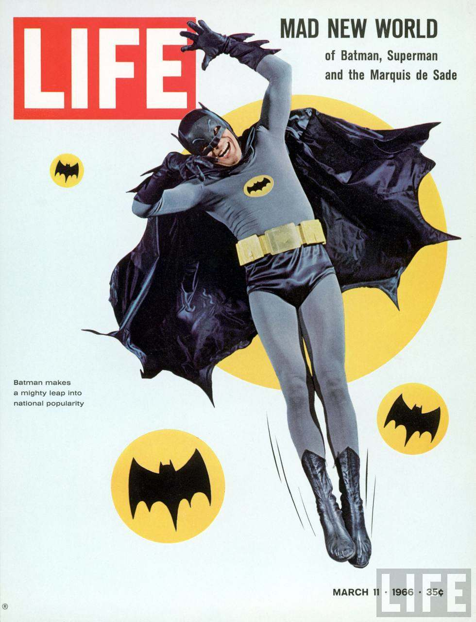 Batman on Life magazine