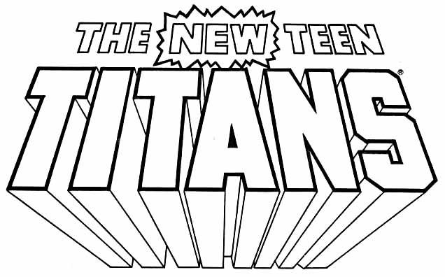 New Teen Titans logo Todd Klein