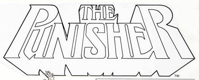 Punisher logo Kevin Nowlan