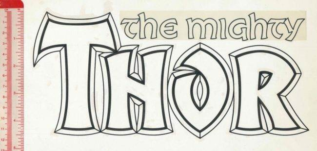 Thor logo Alex Jay