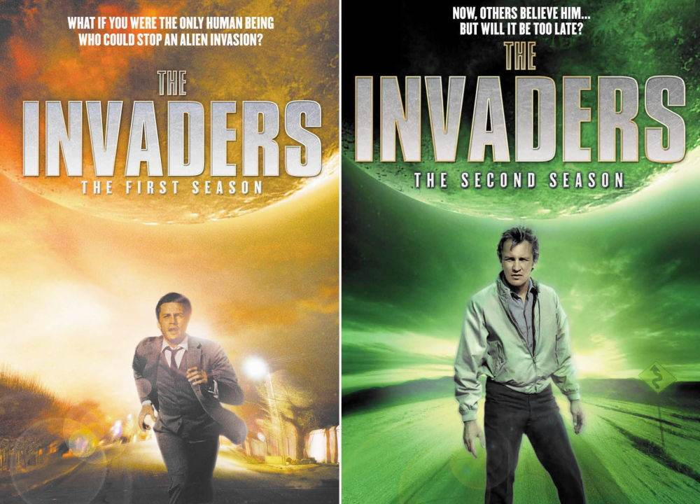 Invaders DVD sets