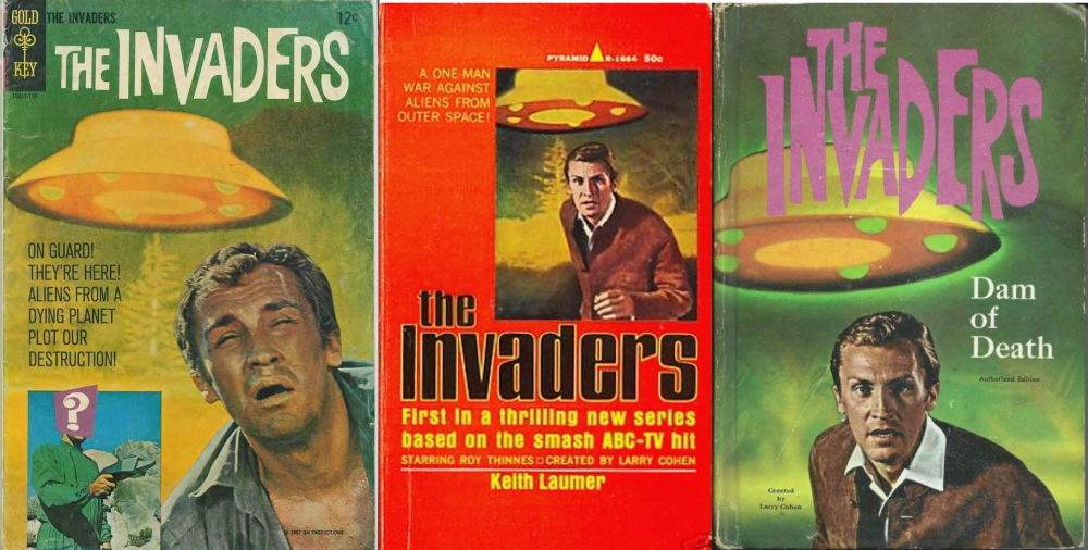 Invaders books and comics