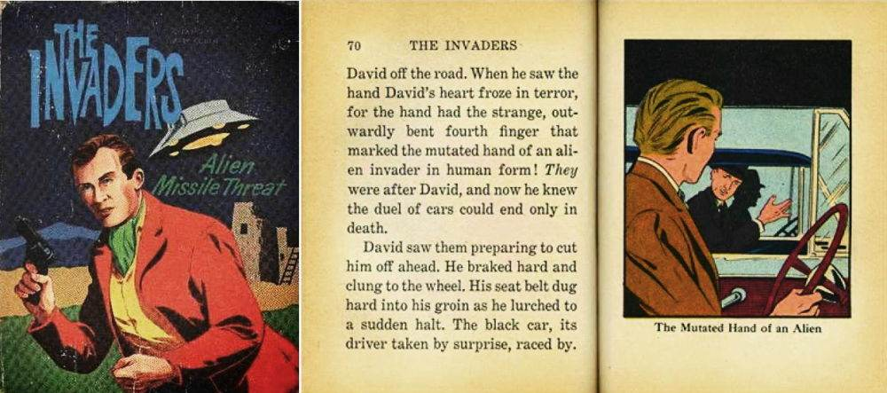 Invaders Big Little Book