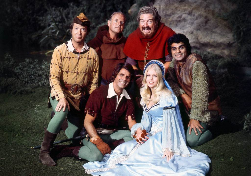 'When Things Were Rotten' cast photo