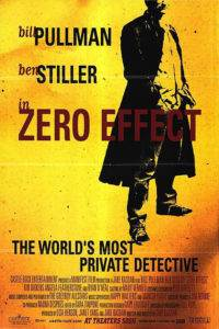 Zero Effect poster