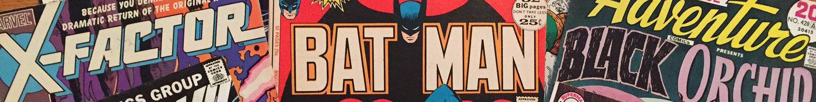 Favorite Comic Book Logos!