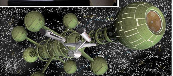 New Visions alien ship