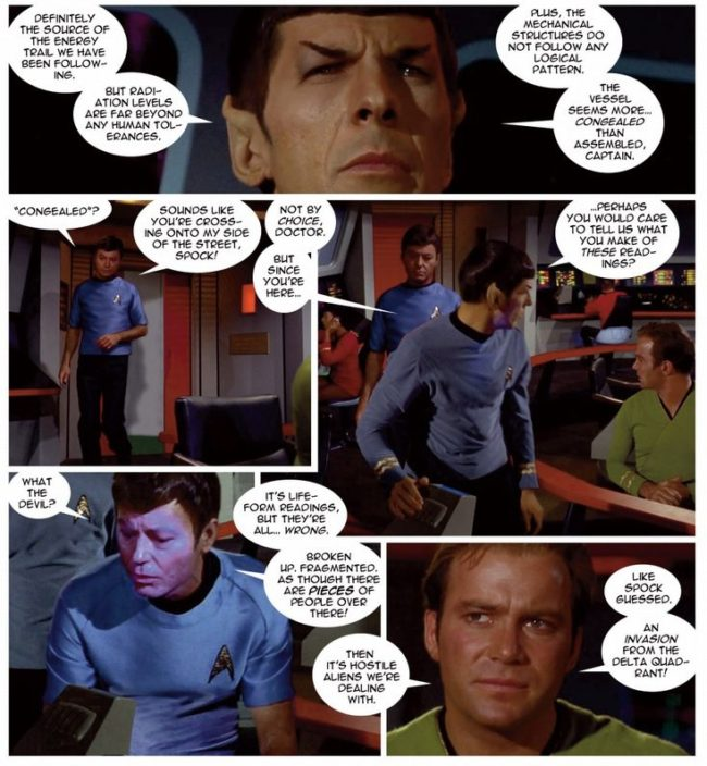 Star Trek New Visions 6 Resistance