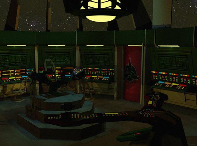 New Visions Klingon Bridge