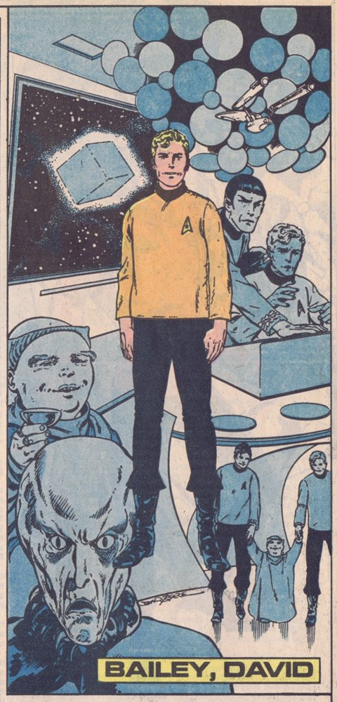 Star Trek David Bailey John Byrne
