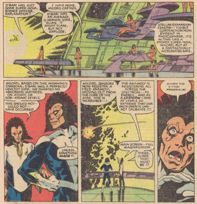 X-Men 135 Shi'ar