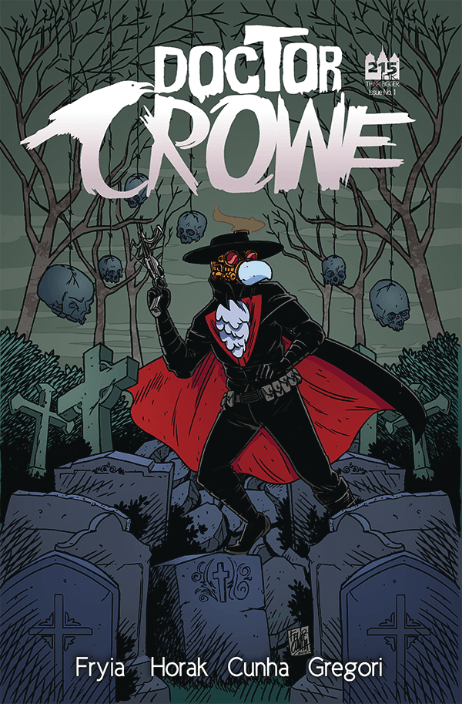 Doctor Crowe 1 cover