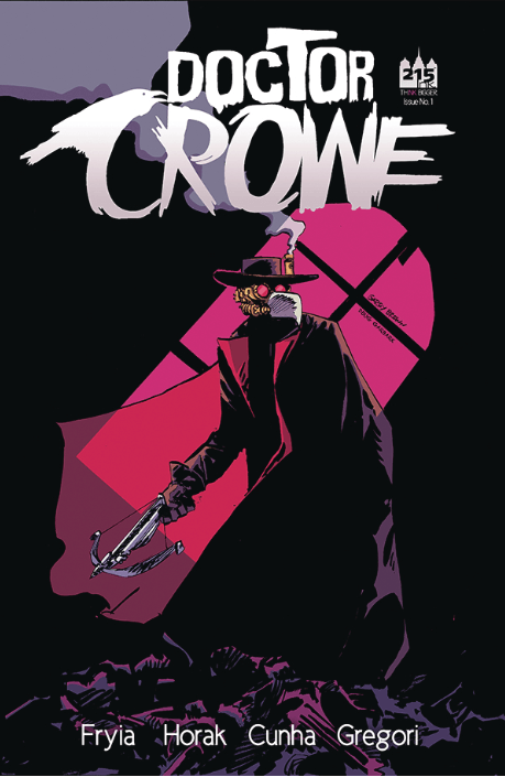 Doctor Crowe 1 variant cover