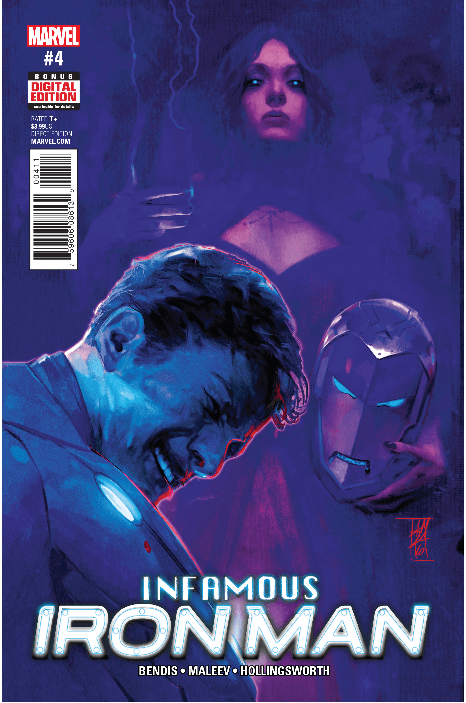 Infamous Iron Man 4 cover Super Bowl