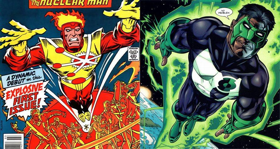 Firestorm Green Lantern Kyle Rayner