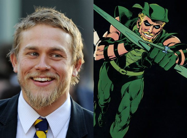 Green Arrow Charlie Hunnam JLA
