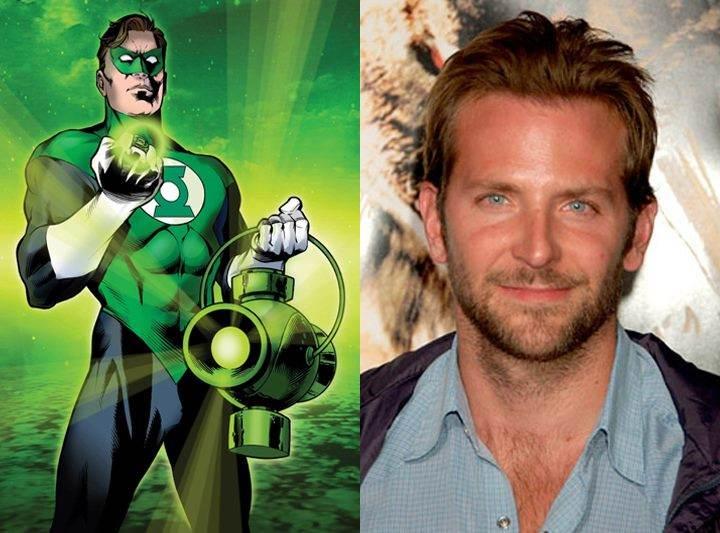 Green Lantern Bradley Cooper JLA