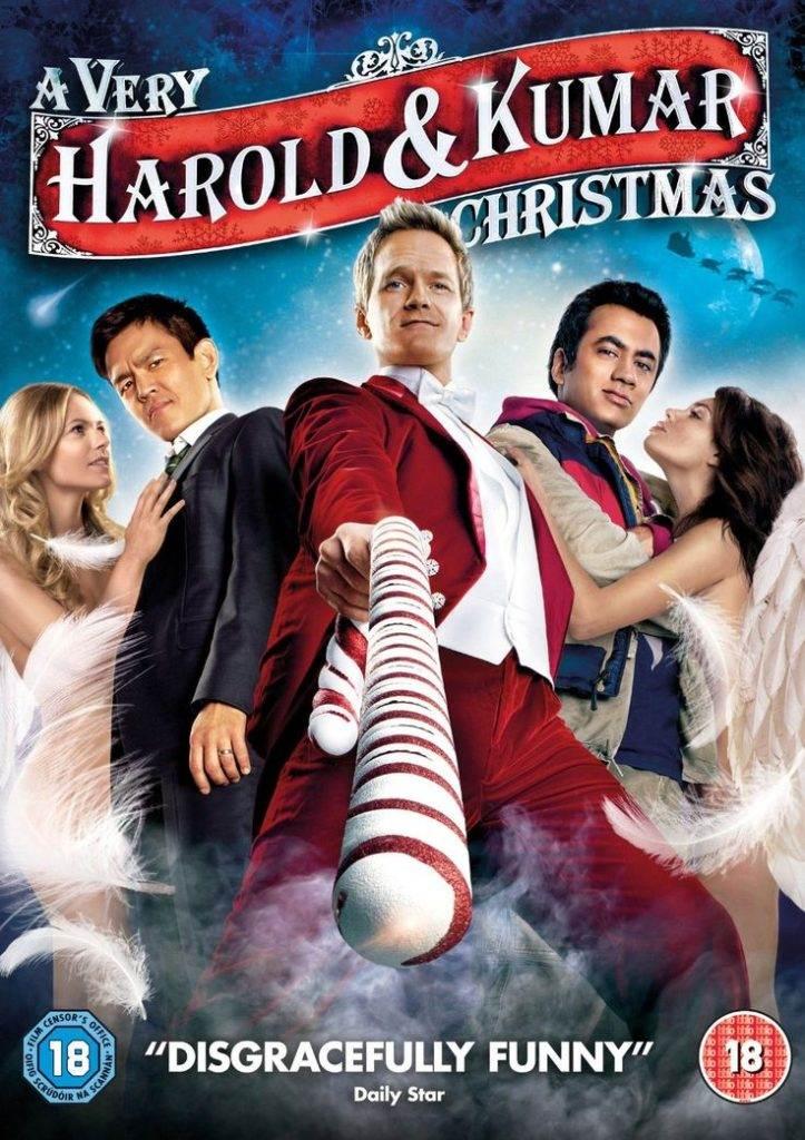 'A Very Harold & Kumar Christmas' poster.