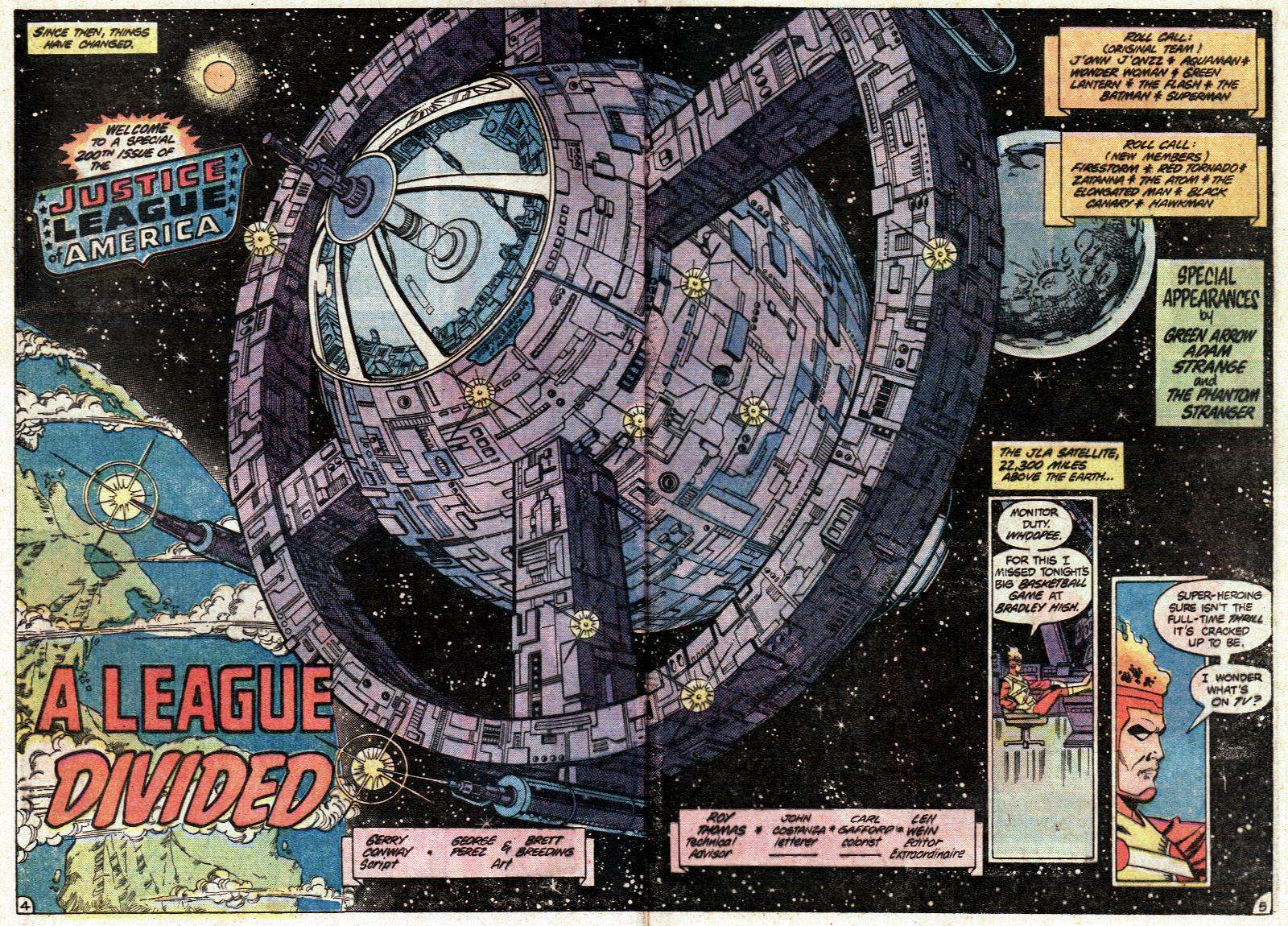 JLA 200 Satellite George Perez
