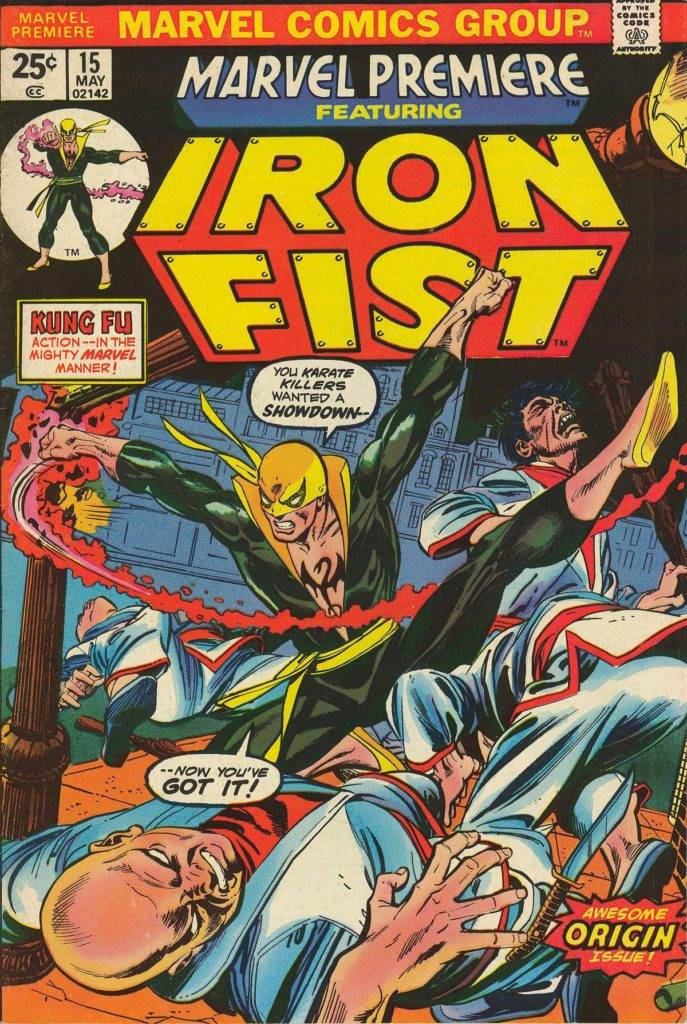 Marvel Premiere #15, debut of Iron Fist.