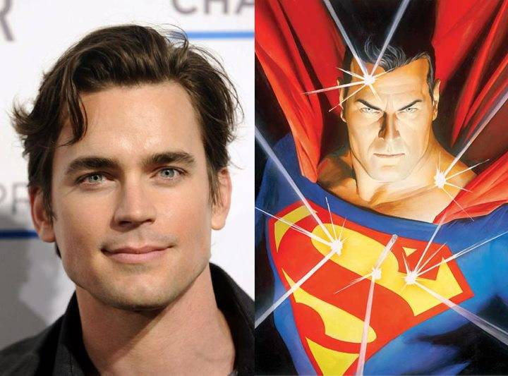 Superman Matt Bomer JLA