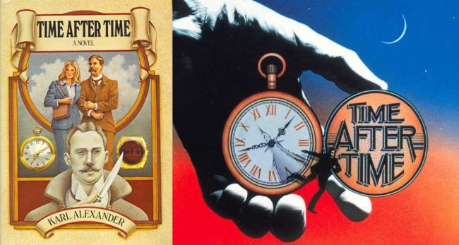 Time After Time book cover movie poster