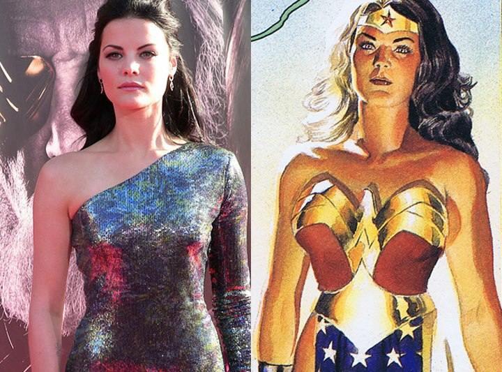 Wonder Woman Jaimie Alexander JLA