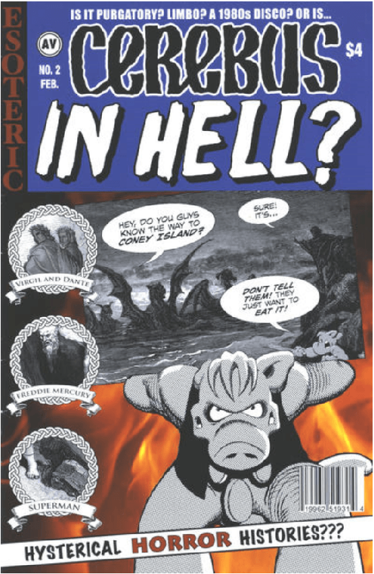 Cerebus in Hell cover 2 aardvark