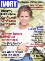 Ivory Magazine cover