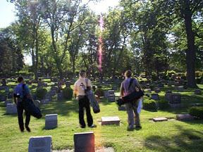 cemetery golf