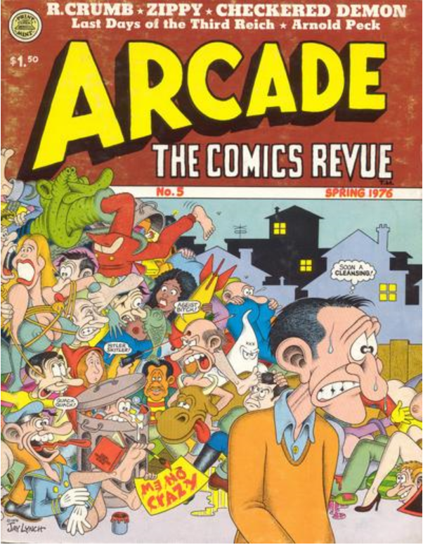 Jay Lynch Arcade 5 cover