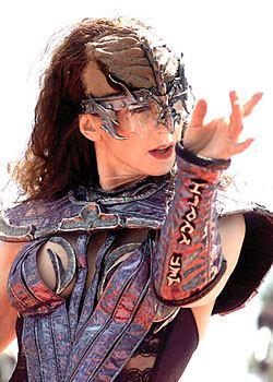 Klingon dancer