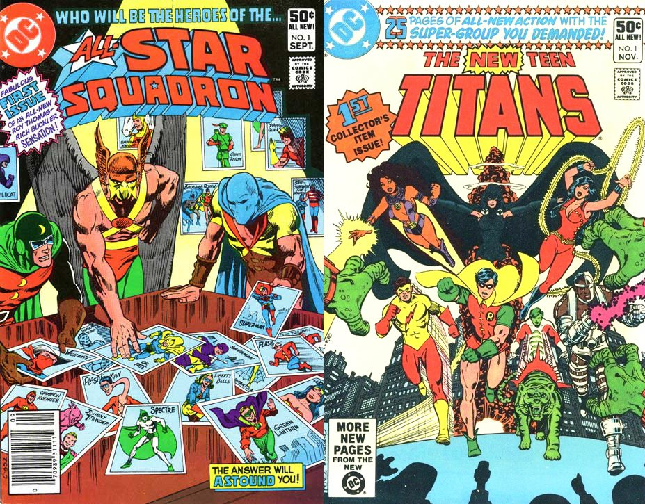 All-Star Squadron New Teen Titans 1