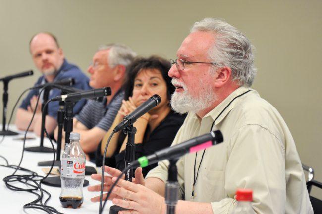 Marvel Bronze Age panel John Trumbull Bob McLeod Ann Nocenti Jim Salicrup