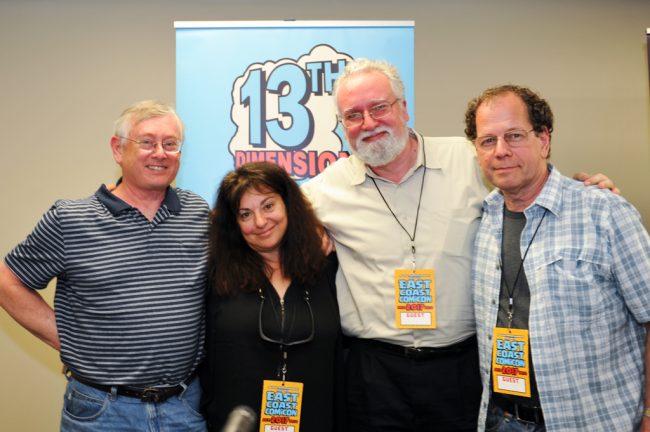 Marvel Bronze Age panel ECC 2017 Bob McLeod Ann Nocenti Jim Salicrup Bob Budiansky
