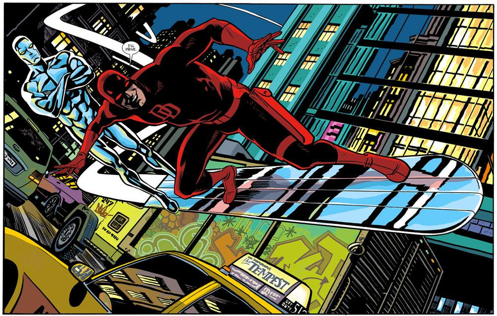 Daredevil Silver Surfer Mark Waid Chris Samnee