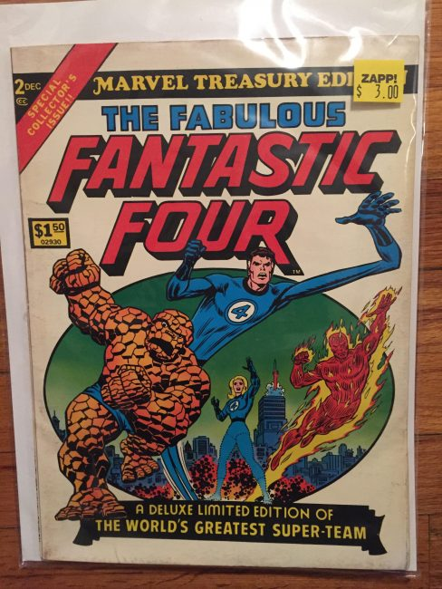 Fantastic Four Marvel Treasury