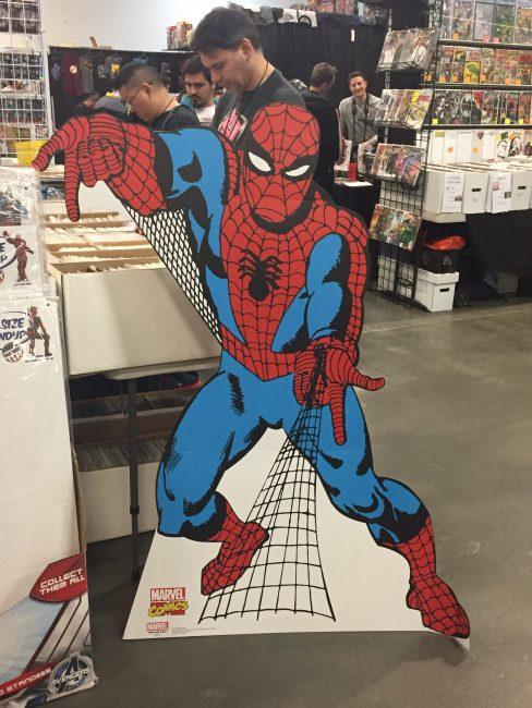 Spider-Man standee ECC 2017